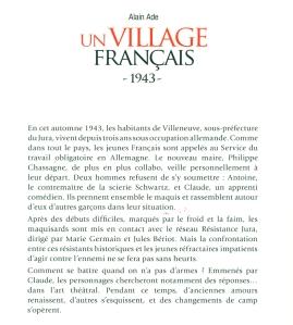 UVF 1943 4 de couv